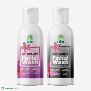 Facial Wash HNI Pembersih Wajah Alami